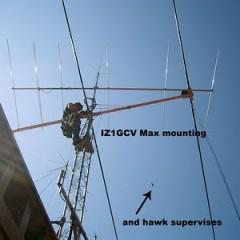 Montaggio antenna Ultra Beam da IZ1EPM, Freddy